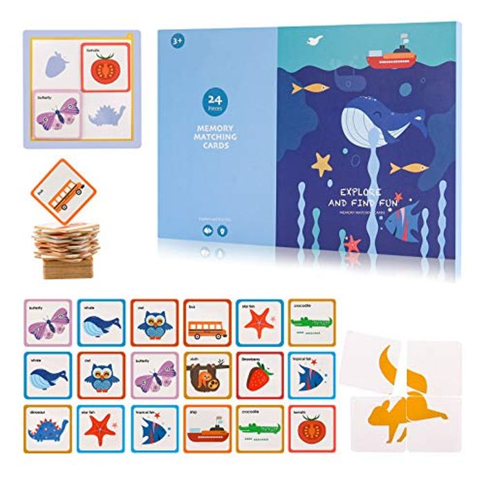 Educational Memory Matching Card Game Only £4!