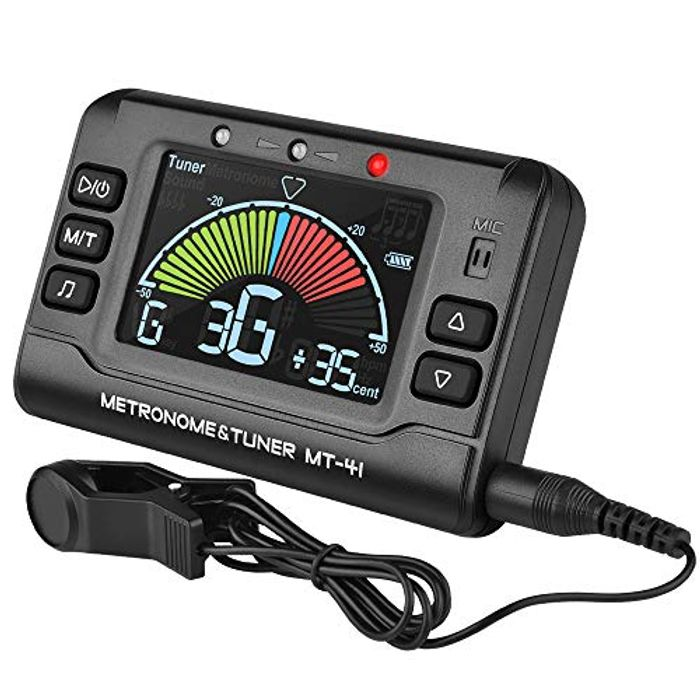 Metronome Guitar Tuner Rechargeable Tuner 3 in 1 Digital Metronome Tuner