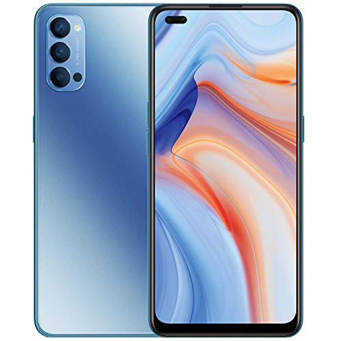 OPPO Reno4 5G Android 10 Dual Sim Smartphone - Only £279.1!