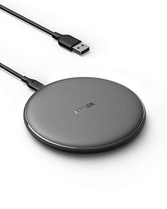 Anker Wireless Charger, PowerWave Pad Qi-Certified - Only £11.89!