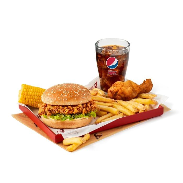 Fillet Burger Box Meal (1 Piece) £4.99