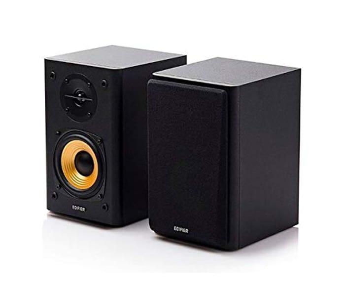Edifier R1000T4 Active 2.0 Bookshelf Speaker System Ideal TV, PC, Laptop (Black)