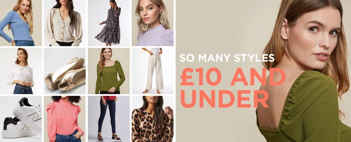 Free Standard Delivery at Dorothy Perkins