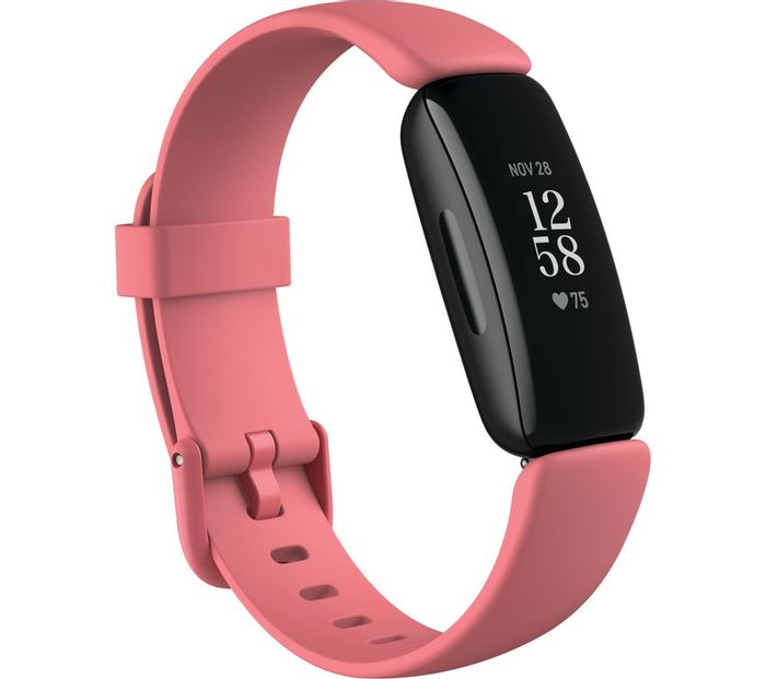 *SAVE £20* FITBIT Inspire 2 - Pink/Black/White +1 Year of FREE Fitbit Premium