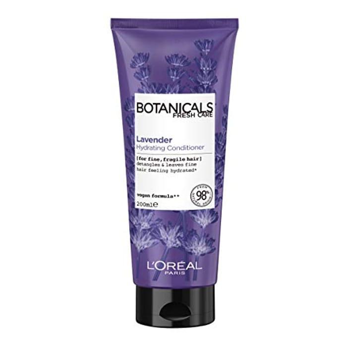L'Oreal Paris Botanicals Lavender Sensitive Hair & Scalp Vegan Conditioner 200ml