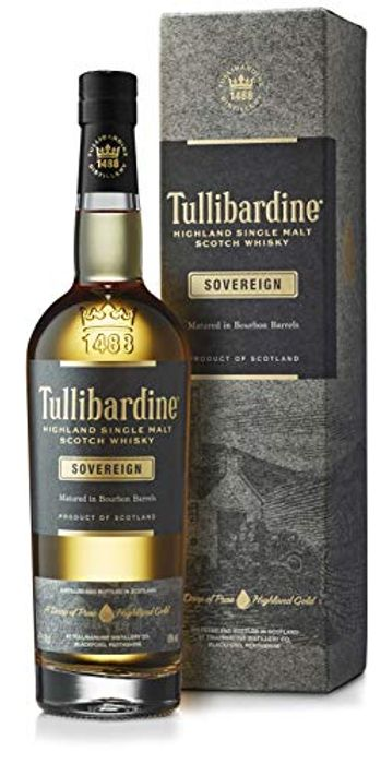 BEST EVER PRICE Tullibardine Sovereign Highland Single Malt Scotch Whisky, 70 Cl