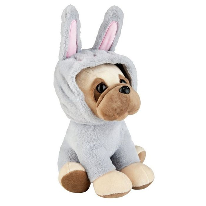 Easter Bunny Pug Soft Toy - 33cm Tall Only £2.50 With Free C&C At Argos