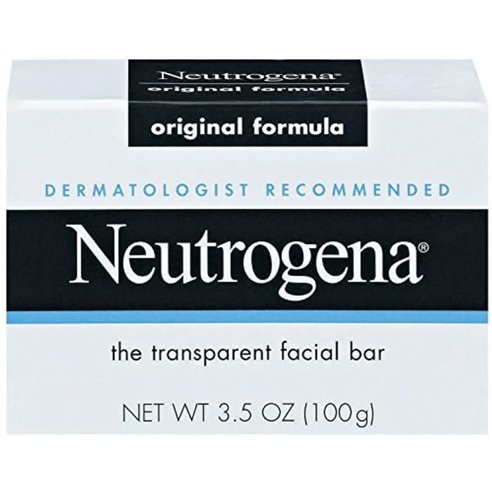 Neutrogena Transparent Scented Facial Soap Pack of 8