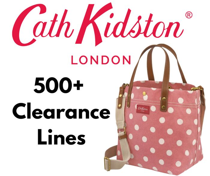 Cath Kidston Clearance - 500+ Lines Discounted
