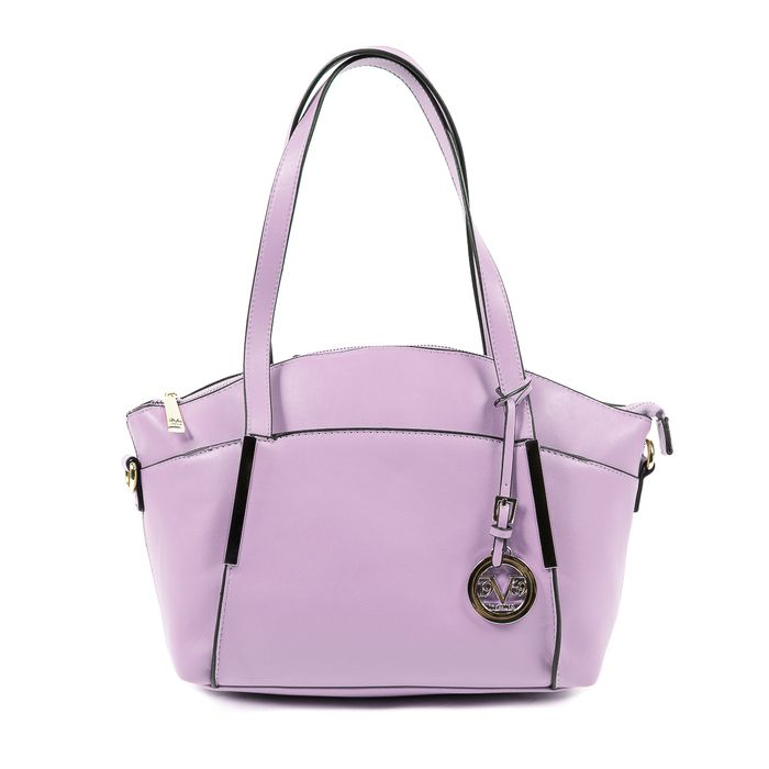 VERSACE 1969 Italia Womens Handbag Purple GIULIA