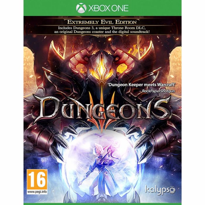 Cheap! Xbox One Dungeons 3 III Extremely Evil Edition £4.99 at eBay