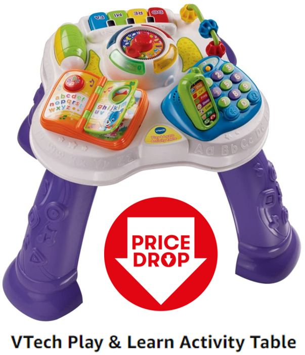 VTech Baby's First Learning Activity Table (6m - 3 years) 4.7 STARS