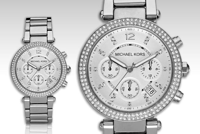Michael Kors Ladies' Crystal Watch Only £105.99 Delivered