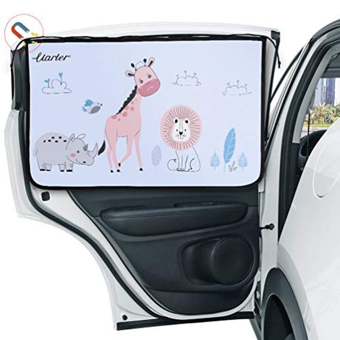 Car Window Shades for Baby- Block UV Rays - 2 Packs