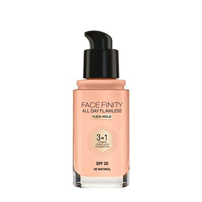 Max Factor Facefinity 3-in-1 All Day Flawless Liquid Foundation