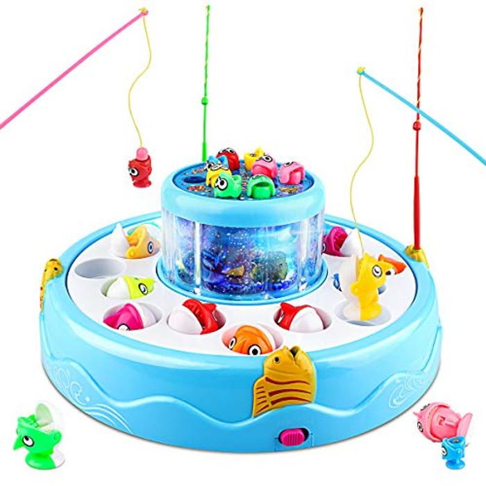 Fishing Game with Lights and Music
