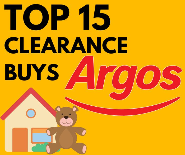 Top 15 Argos Clearance Picks from £3.99