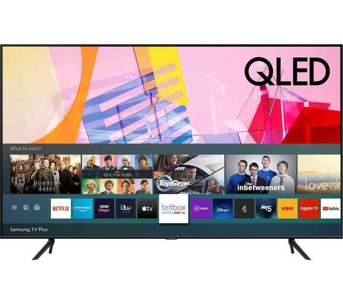 *SAVE £450* Samsung 55 Inch, QLED, 4K Ultra HD, Ambient Mode, HDR, Smart Q60 TV