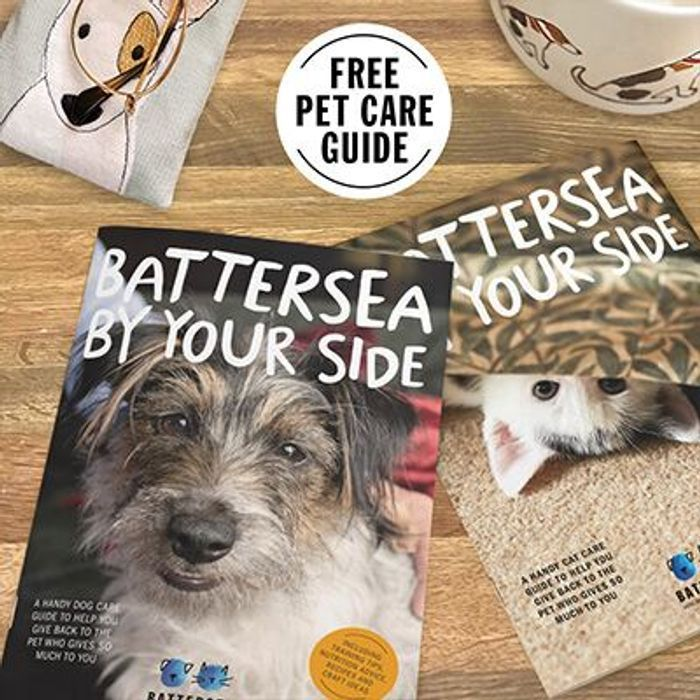 Free Pet Care Guide from Battersea