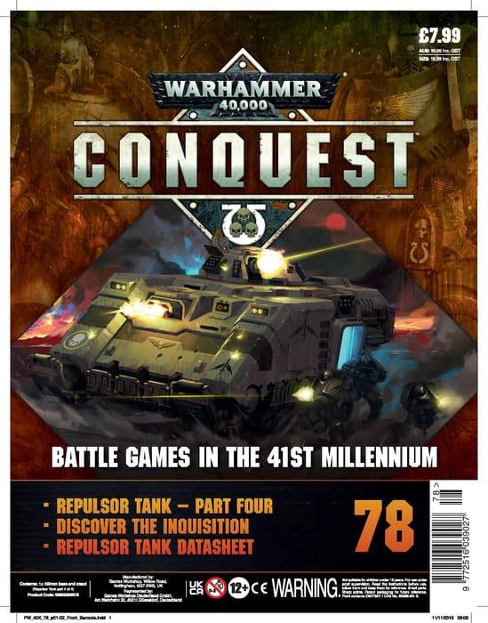 Warhammer 40K: Conquest: Figurine Collection #78