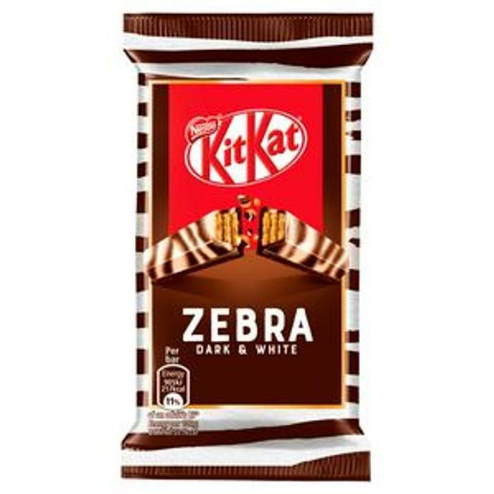 Kit Kat Zebra Dark & White Chocolate Bar