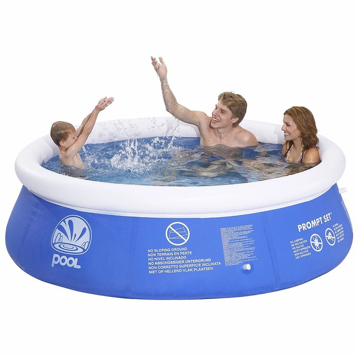 CHEAP! Summer Fun Prompt Set 8ft Inflatable Pool
