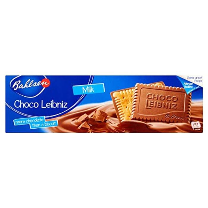 Bahlsen Choco Leibniz Milk Chocolate, 125g