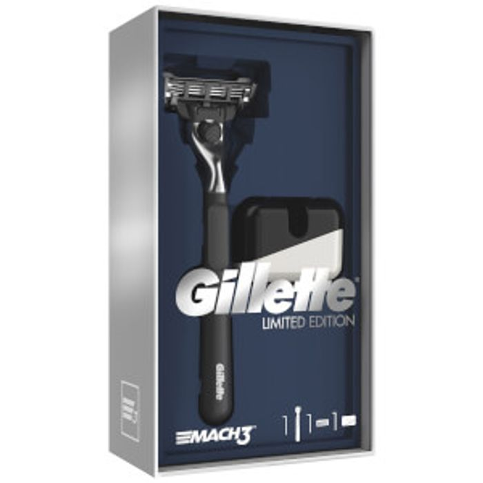 Gillette Limited Edition Mach3 Gift Set Only £6.02