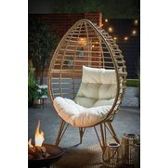 Value Wicker Egg Chair