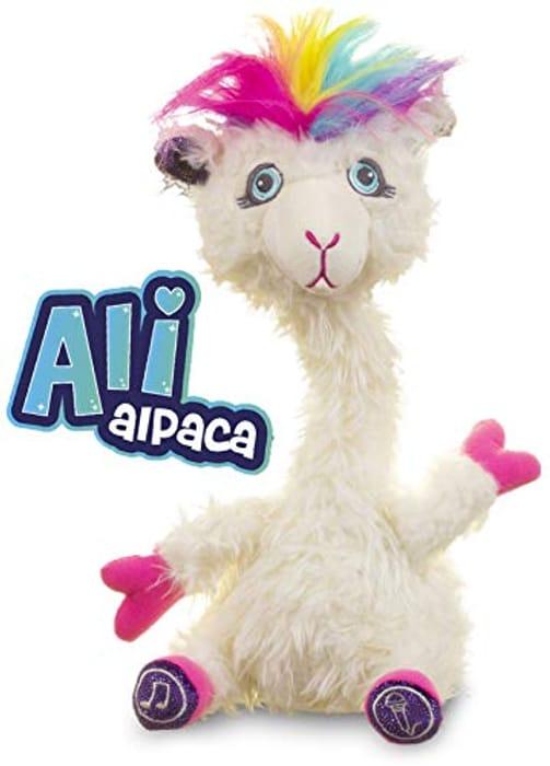 Ali Alpaca - Wiggles and Dances like Crazy!