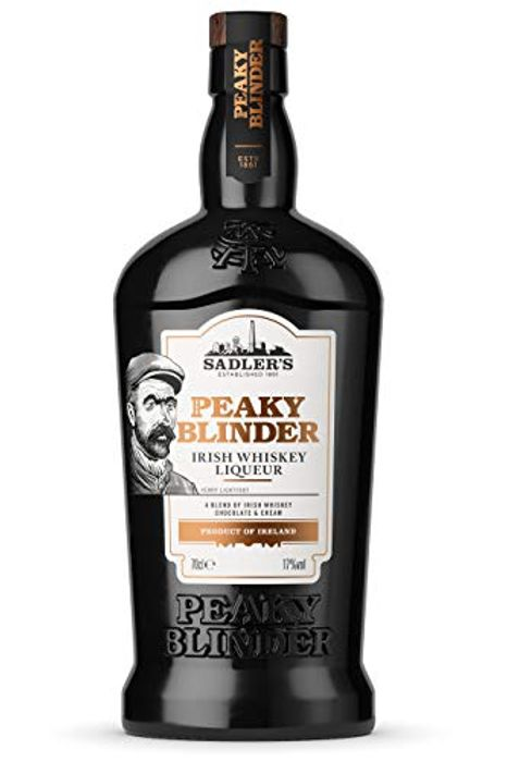 Sadler's Peaky Blinder Irish Whiskey Liqueur, 70cl