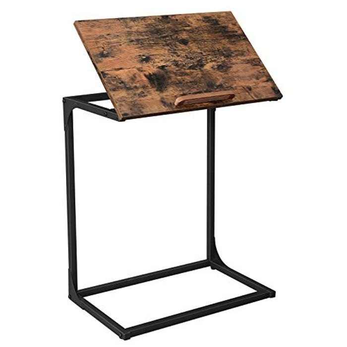 Laptop Table with Tilting Top