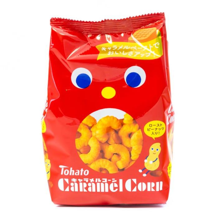 Tohato Caramel Corn Snacks