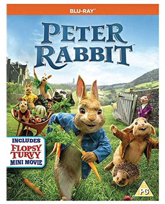 Peter Rabbit [Blu-Ray] [2017] - Only £2.75!