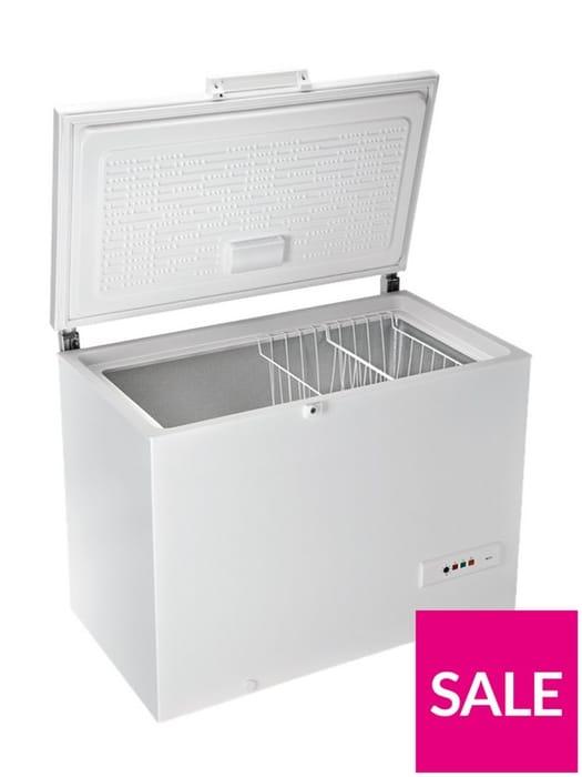 *SAVE £30* Hotpoint 300-Litre Chest Freezer - White