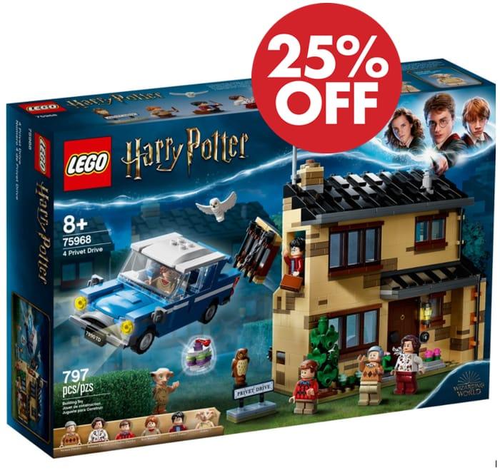 Cheap! LEGO HARRY POTTER - 4 Privet Drive - *4.9 STARS* (75968) - SAVE £17!