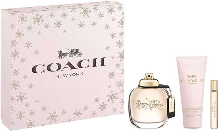 Coach Eau De Parfum and Body Lotion Set (Worth £91.00)