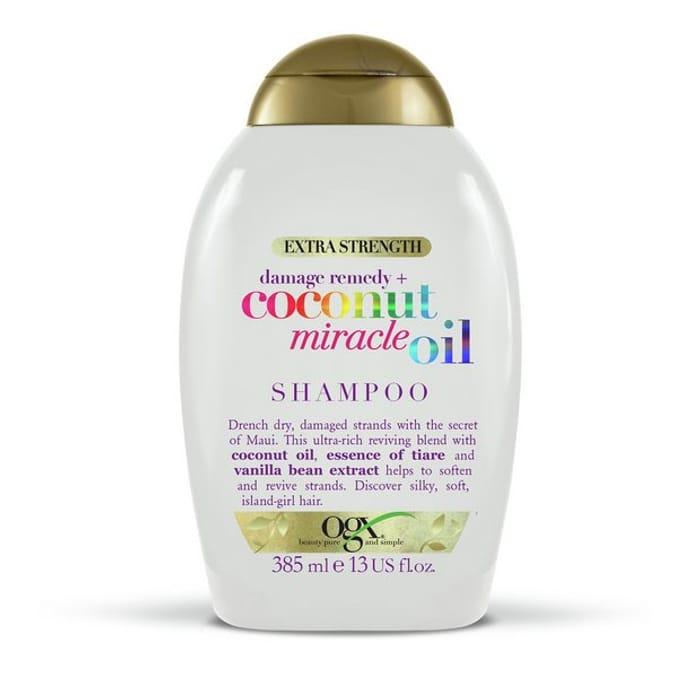 OGX Damage Remedy Coconut Miracle Oil Shampoo 385ml