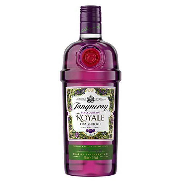 Tanqueray Blackcurrant Royale Gin, 70cl + FREE DELIVERY