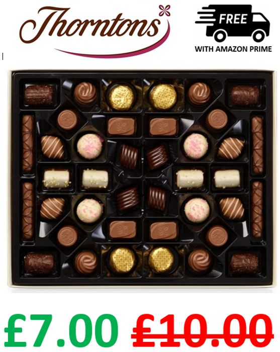 Thorntons Chocolate Classic Gift Set 449g + PRIME DELIVERY