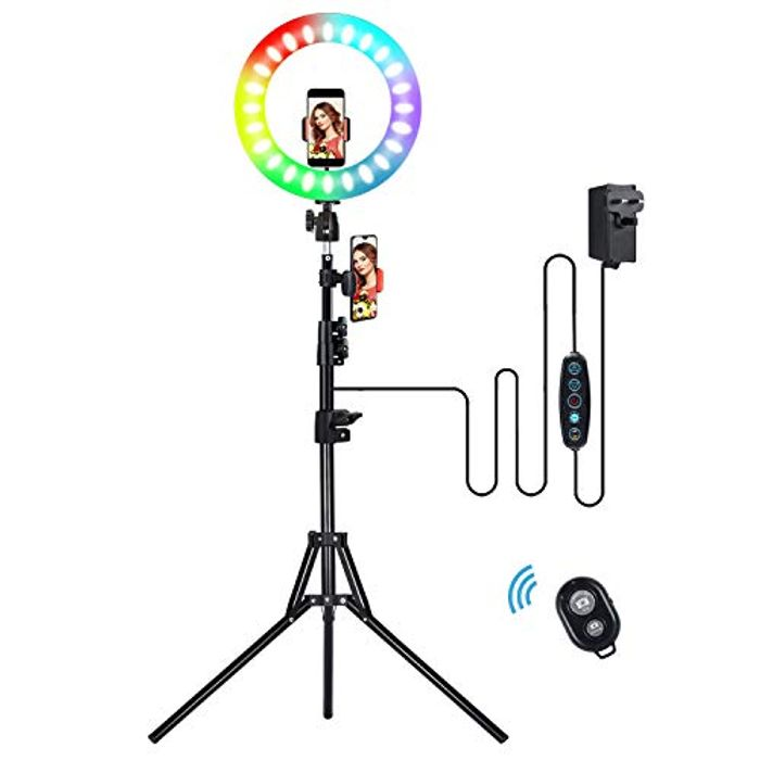 "Save 70%! Ring Light 14"" with Tripod Stand"