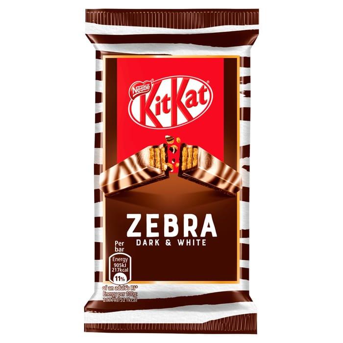 Kit Kat Zebra Dark & White Chocolate Bar 41.5G