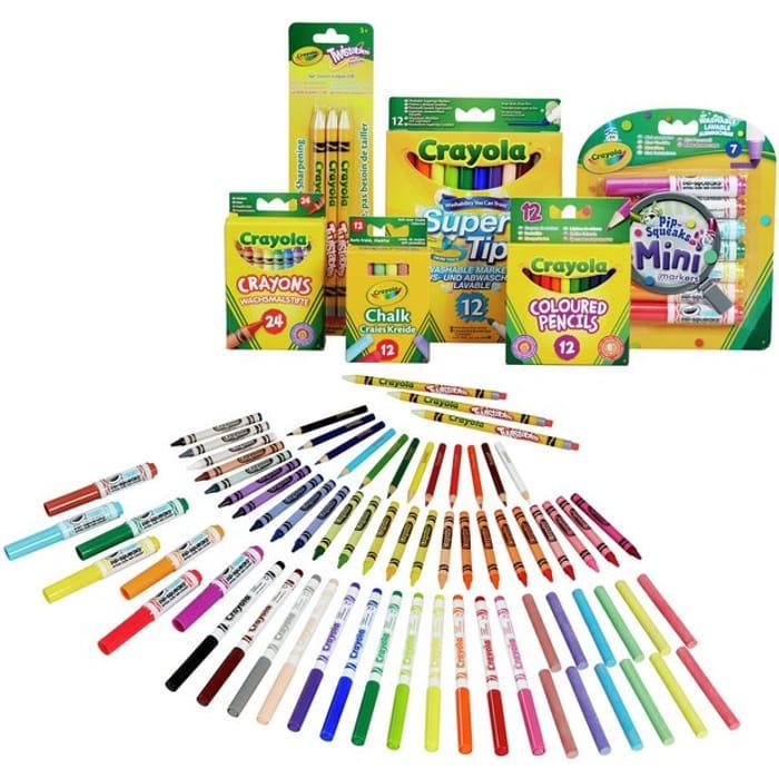 Crayola 70 Piece Stationery Set (2 for £15 !)