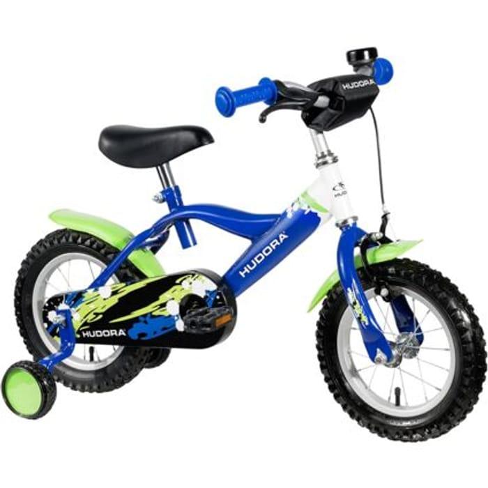 """HUDORA Green & Blue 12"""" Bike FREE DELIVERY"""