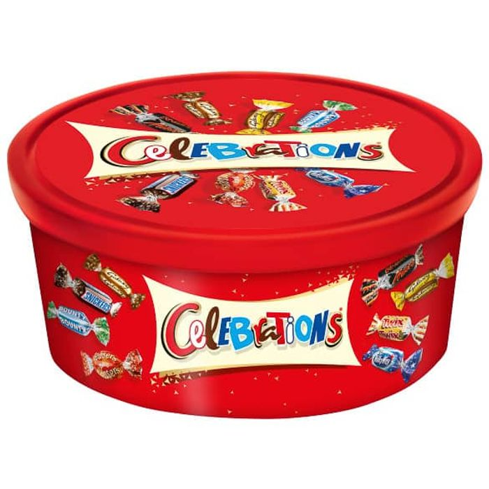 Celebrations Tub 650g Will Sell out Fast