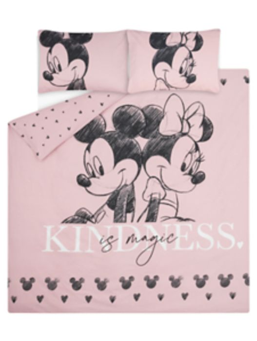 CHEAP! Motivational Minnie and Mickey Duvet Set (Sing Double King ) from