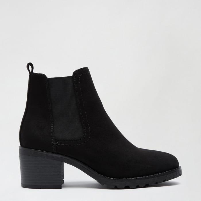 Dorothy Perkins-Black Ami Chelsea Boots