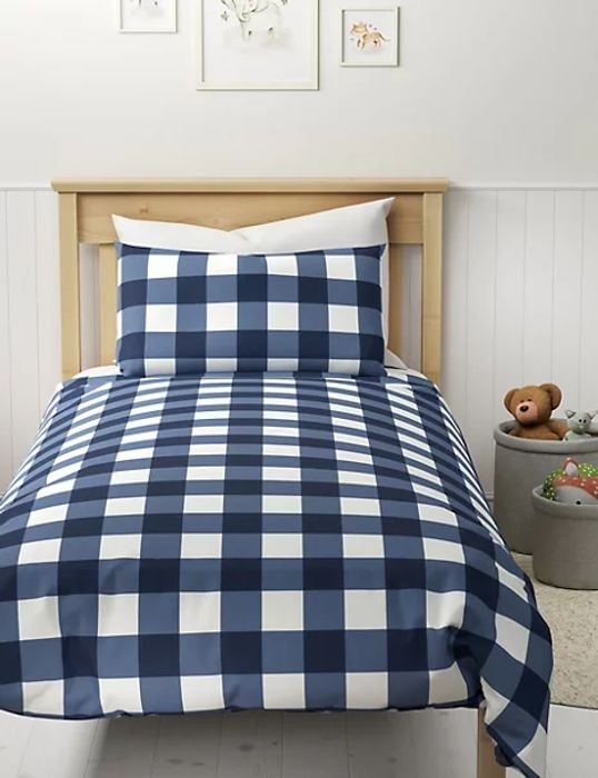Cotton Mix Gingham Set- Double Left, Hurry Not Many Left OUT OF STOCK