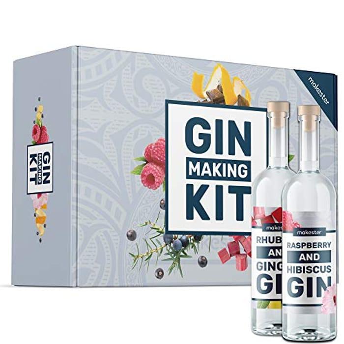 DEAL STACK - Makester Gin Making Kit + £2 Coupon