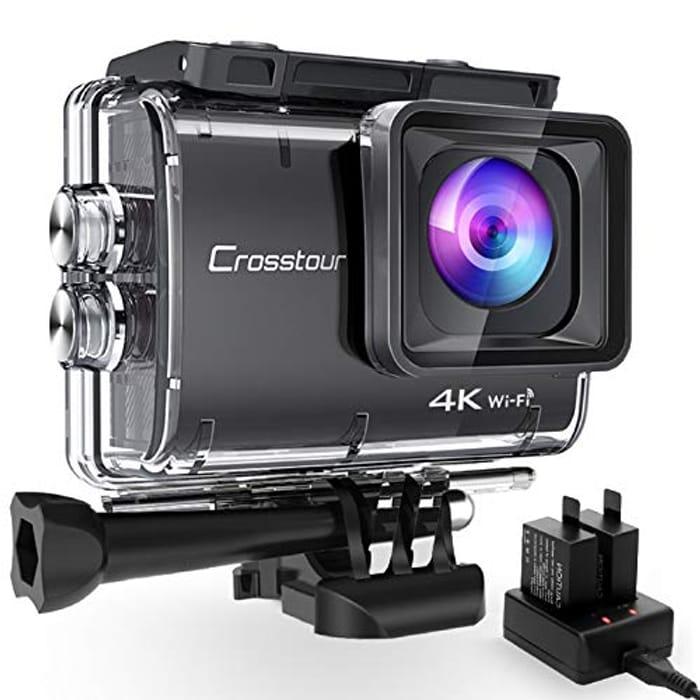 4K/50fps Action Camera 20MP WIFI Underwater Cam